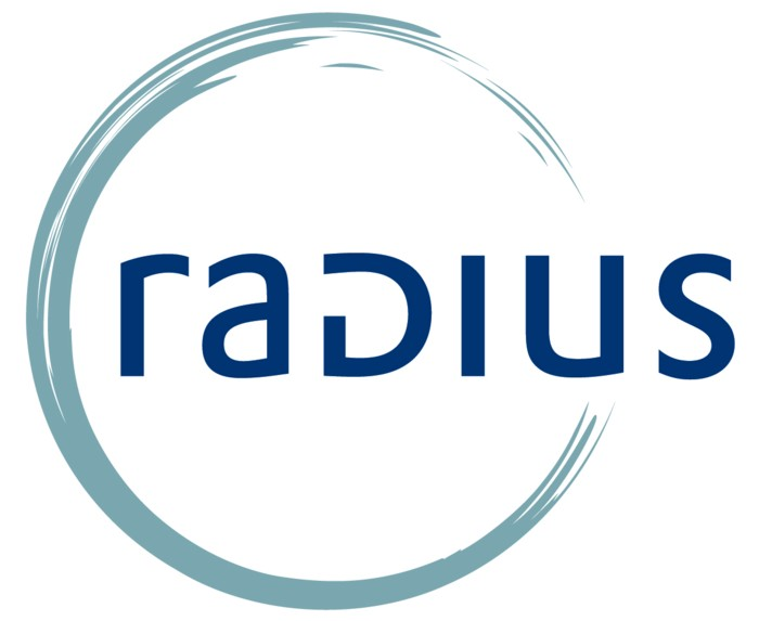 Logo radius of art